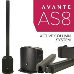 Avante AS8 active column PA system
