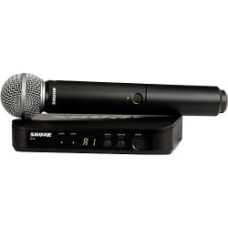 Shure BLX24/SM58 Wireless Microphone Kit