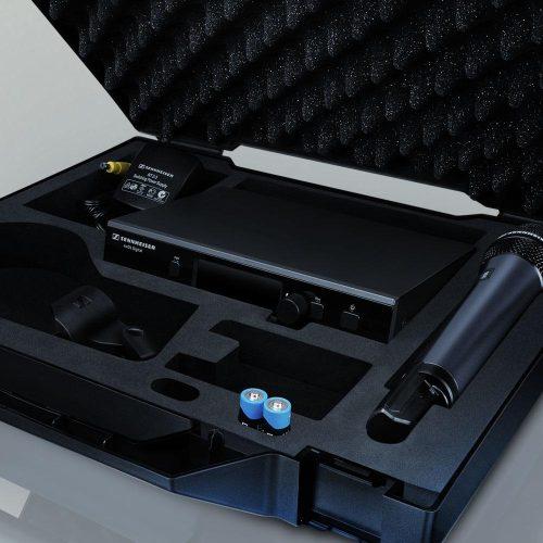 D1-e835-S wireless microphone transport case