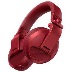 Red Pioneer DJ headphones