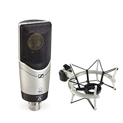 Sennheiser MK4 digital condenser mic with mount