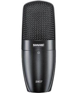 Shure SM27-SC instrument microphone