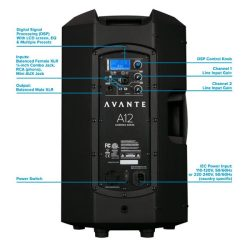 Rear diagram for Avante A12