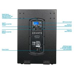 rear diagram for Avante Audio 15S