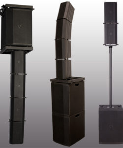 Avante Imperio Line array speakers