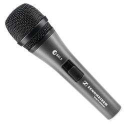 Sennheiser e835-S dynamic microphone with on/off switch