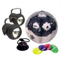 ADJ M-502L Mirror Ball Package