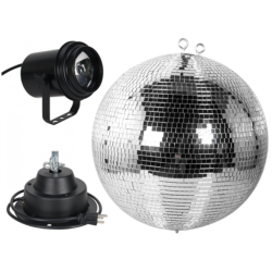 ADJ M-600L Mirror Ball Package