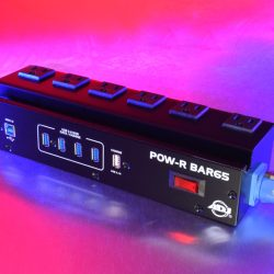 POW-R-BAR65 for audio and lighting