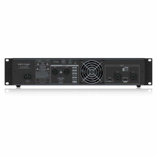 Behringer 1000W Power AmplfiersNX1000 rear