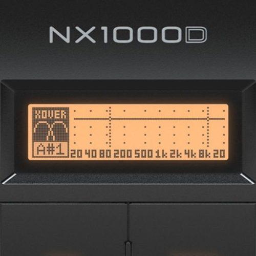 Behringer NX1000D display
