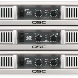 QSC GX Amplifiers Series