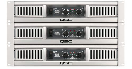 QSC GX Amplifiers Series