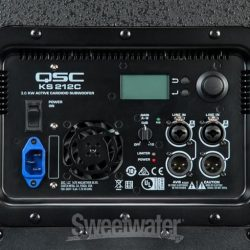 QSC KS212C Subwoofer Display