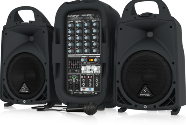 Portable PAs - Behringer BEH-PPA500BT PA system