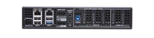 Q-SYS NV-32H Rear panel