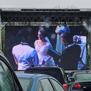 Drive-in Wedding 2
