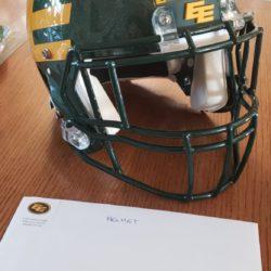 EE Football Helmet