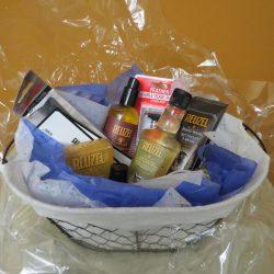 Gameday Barbershop Gift Basket 1