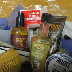 Gameday Barbershop Gift Basket 2